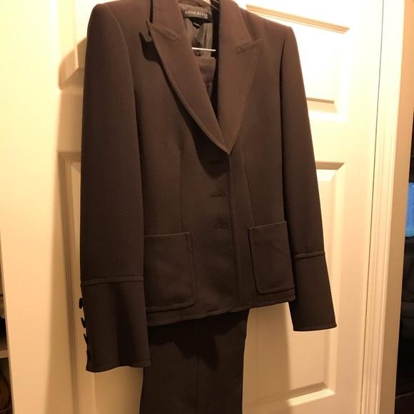 Anne Klein Jackets & Blazers - Anne Kline deep plum woman's suit